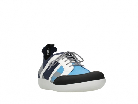 wolky lace up shoes 04075 base 00821 denim white microfiber_5