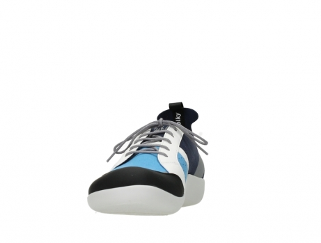 wolky lace up shoes 04075 base 00821 denim white microfiber_8