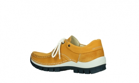 wolky lace up shoes 04701 fly 11558 yelloworange blue nubuck_15