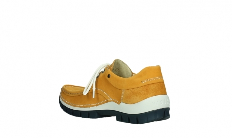 wolky lace up shoes 04701 fly 11558 orange blue nubuck_16