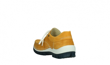 wolky lace up shoes 04701 fly 11558 yelloworange blue nubuck_17