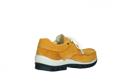wolky lace up shoes 04701 fly 11558 yelloworange blue nubuck_22