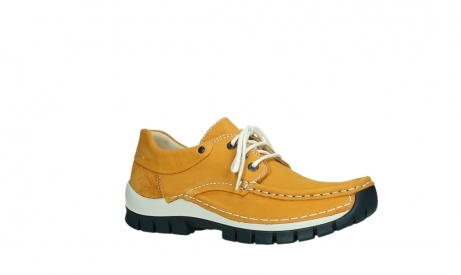 wolky lace up shoes 04701 fly 11558 yelloworange blue nubuck_3