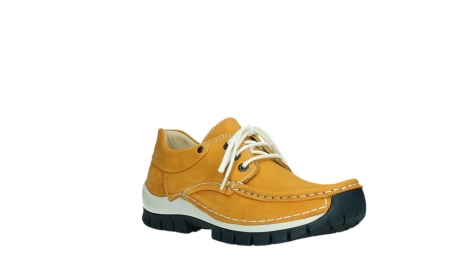 wolky lace up shoes 04701 fly 11558 yelloworange blue nubuck_4