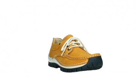 wolky lace up shoes 04701 fly 11558 yelloworange blue nubuck_5