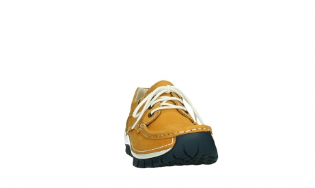 wolky lace up shoes 04701 fly 11558 yelloworange blue nubuck_6
