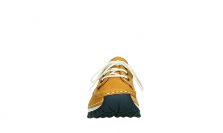 wolky lace up shoes 04701 fly 11558 yelloworange blue nubuck_7