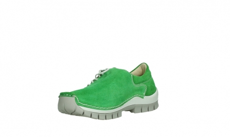wolky lace up shoes 04710 side 40740 applegreen oiled suede_10