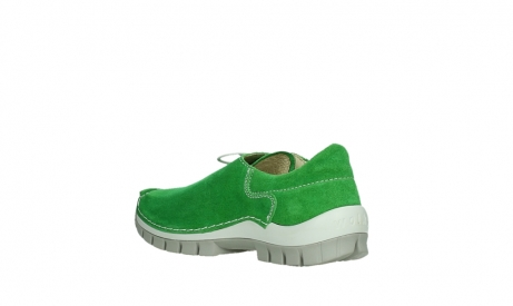 wolky lace up shoes 04710 side 40740 applegreen oiled suede_16