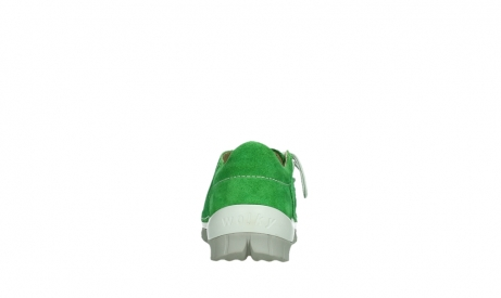 wolky lace up shoes 04710 side 40740 applegreen oiled suede_19