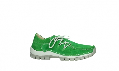 wolky lace up shoes 04710 side 40740 applegreen oiled suede_2