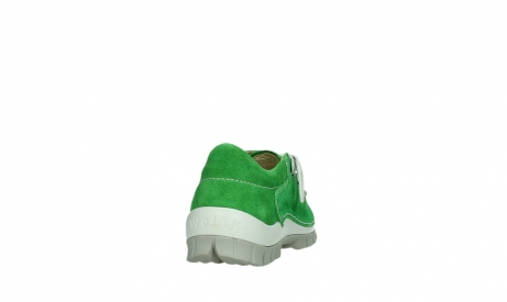 wolky lace up shoes 04710 side 40740 applegreen oiled suede_20