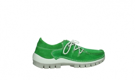 wolky lace up shoes 04710 side 40740 applegreen oiled suede_24