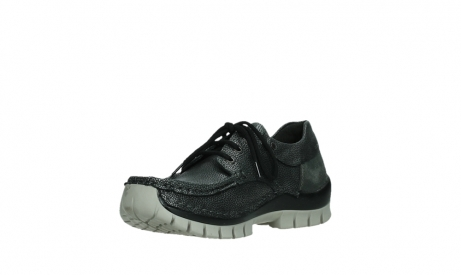 wolky lace up shoes 04726 fly winter 81280 metal grey leather_10
