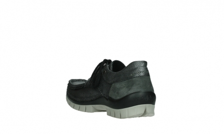 wolky lace up shoes 04726 fly winter 81280 metal grey leather_17