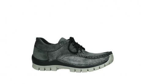 wolky lace up shoes 04726 fly winter 81280 metal grey leather_2