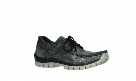 wolky lace up shoes 04726 fly winter 81280 metal grey leather_3