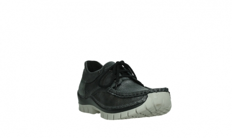 wolky lace up shoes 04726 fly winter 81280 metal grey leather_5