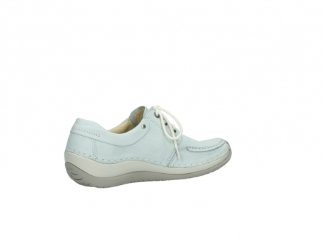 wolky lace up shoes 04800 coral 20850 ice blue leather_11