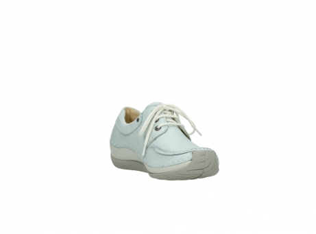 wolky lace up shoes 04800 coral 20850 ice blue leather_17