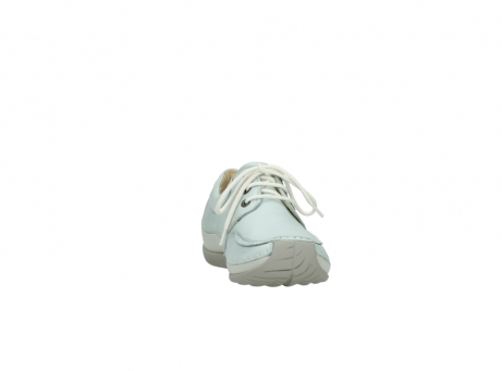 wolky lace up shoes 04800 coral 20850 ice blue leather_18