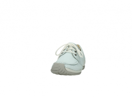 wolky lace up shoes 04800 coral 20850 ice blue leather_20