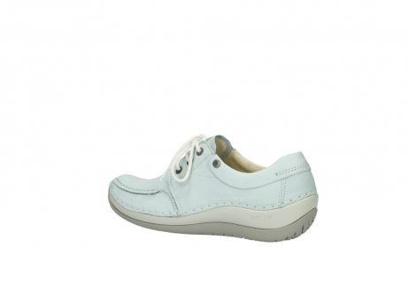wolky lace up shoes 04800 coral 20850 ice blue leather_3