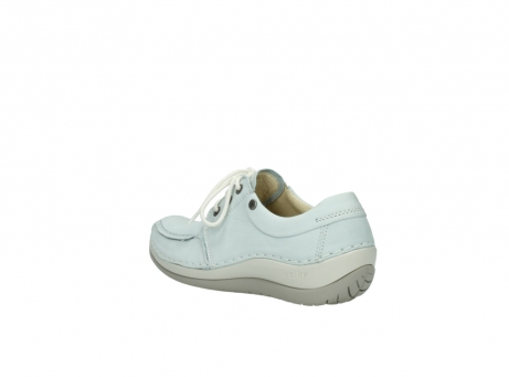 wolky lace up shoes 04800 coral 20850 ice blue leather_4