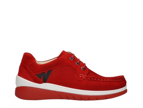 wolky lace up shoes 04853 time 11570 red nubuck_1