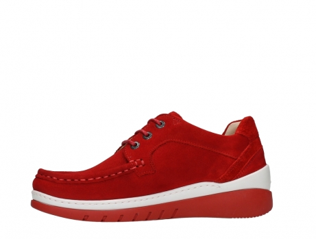 wolky lace up shoes 04853 time 11570 red nubuck_12