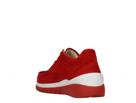 wolky lace up shoes 04853 time 11570 red nubuck_17