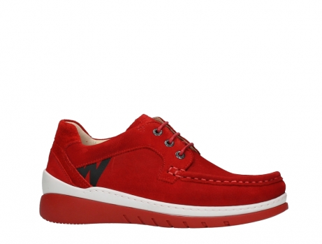 wolky lace up shoes 04853 time 11570 red nubuck_2