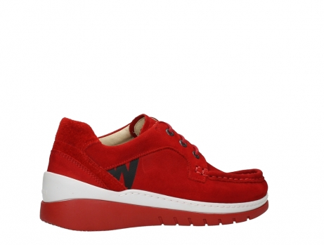 wolky lace up shoes 04853 time 11570 red nubuck_23