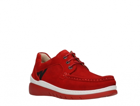 wolky lace up shoes 04853 time 11570 red nubuck_4