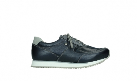 wolky lace up shoes 05806 e sneaker 84870 blue summer stretch leather_1
