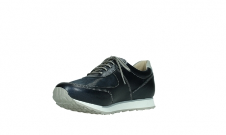 wolky lace up shoes 05806 e sneaker 84870 blue summer stretch leather_10