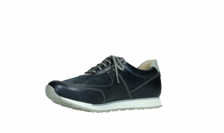 wolky lace up shoes 05806 e sneaker 84870 blue summer stretch leather_11