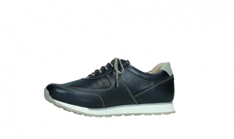 wolky lace up shoes 05806 e sneaker 84870 blue summer stretch leather_12