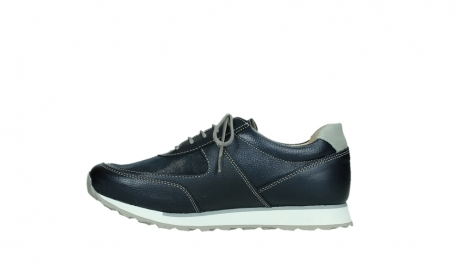 wolky lace up shoes 05806 e sneaker 84870 blue summer stretch leather_13