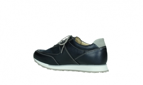 wolky lace up shoes 05806 e sneaker 84870 blue summer stretch leather_15
