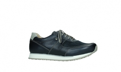 wolky lace up shoes 05806 e sneaker 84870 blue summer stretch leather_2