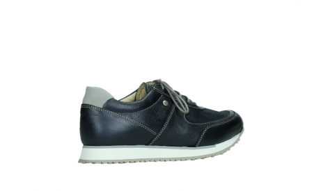 wolky lace up shoes 05806 e sneaker 84870 blue summer stretch leather_23