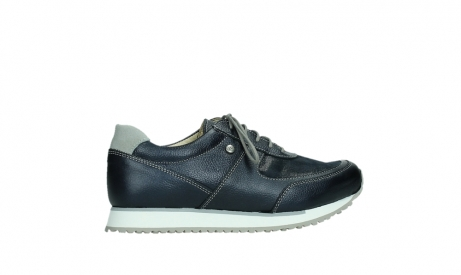 wolky lace up shoes 05806 e sneaker 84870 blue summer stretch leather_24
