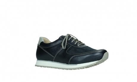 wolky lace up shoes 05806 e sneaker 84870 blue summer stretch leather_3