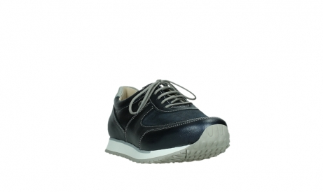wolky lace up shoes 05806 e sneaker 84870 blue summer stretch leather_5