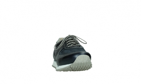 wolky lace up shoes 05806 e sneaker 84870 blue summer stretch leather_6