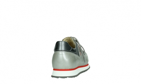 wolky lace up shoes 05811 e walk xw 87130 silver grey pearl stretch leather_20