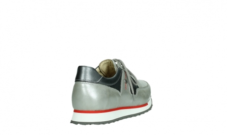wolky lace up shoes 05811 e walk xw 87130 silver grey pearl stretch leather_21