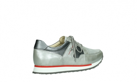 wolky lace up shoes 05811 e walk xw 87130 silver grey pearl stretch leather_23