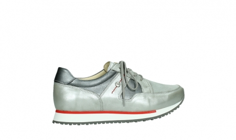 wolky lace up shoes 05811 e walk xw 87130 silver grey pearl stretch leather_24